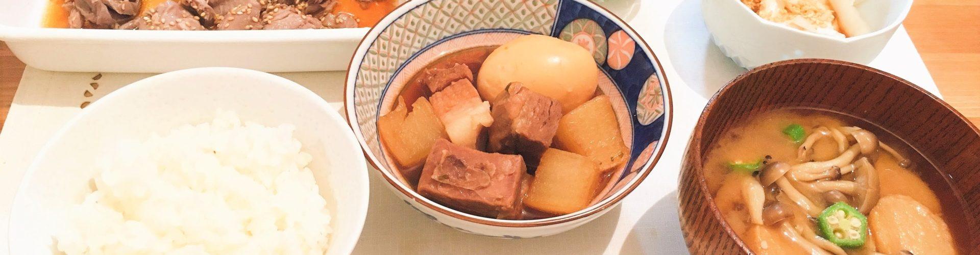 料理「豚の角煮」